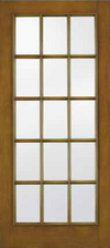 JELD-WEN A5015 Aurora® Custom Fiberglass Glass Panel