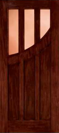 JELD-WEN 382 Custom Wood Glass Panel