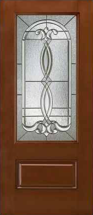 JELD-WEN 607 Design-Pro & Smooth-Pro Fiberglass Glass Panel