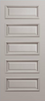JELD-WEN C5000 Custom Carved Wood Composite All Panel