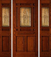 JELD-WEN 406 Custom Wood Glass Panel