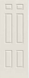 JELD-WEN 60 - 8'0 Steel All Panel Exterior Door