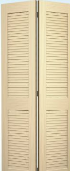JELD-WEN 0730E Authentic Wood Bifold