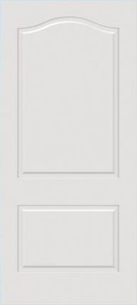 JELD-WEN C2170 Custom Carved Wood Composite All Panel
