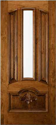 JELD-WEN 465 Custom Wood Glass Panel Exterior Door