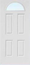 JELD-WEN 659 FiberLast Engineered Composite Glass Panel Exterior Door