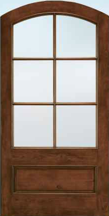 JELD-WEN A5506 Aurora® Custom Fiberglass Glass Panel