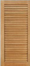 JELD-WEN L201 Custom Wood Louver Interior Door