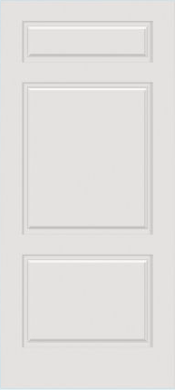 JELD-WEN C3220 Custom Carved Wood Composite All Panel