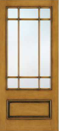 JELD-WEN A5509 Aurora® Custom Fiberglass Glass Panel