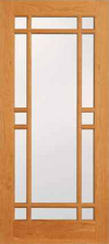 JELD-WEN 513 Custom Wood Glass Panel
