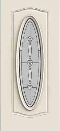 JELD-WEN 969 Steel Glass Panel Exterior Door