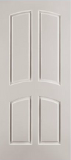 JELD-WEN C4030 Custom Carved Wood Composite All Panel
