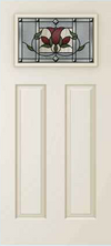 JELD-WEN 814 Steel Glass Panel Exterior Door