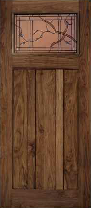 JELD-WEN 385 Custom Wood Glass Panel