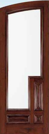 JELD-WEN 201 Custom Wood Glass Panel