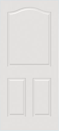 JELD-WEN C3020 Custom Carved Wood Composite All Panel