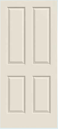 JELD WEN Stanford Molded Wood Composite All Panel Interior Door