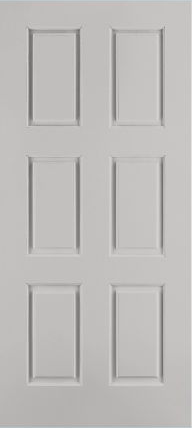 JELD-WEN C6080 Custom Carved Wood Composite All Panel