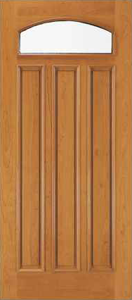 JELD-WEN 460 Custom Wood Glass Panel