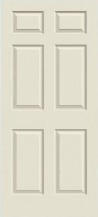 JELD-WEN Bostonian Molded Wood Composite All Panel