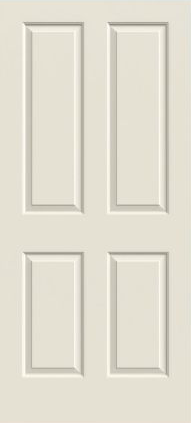 JELD-WEN Atherton Molded Wood Composite All Panel