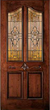 JELD-WEN 890 Custom Wood Glass Panel Exterior Door