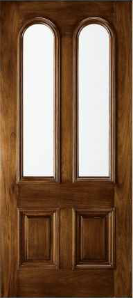 JELD-WEN 112 Custom Wood Glass Panel Exterior Door