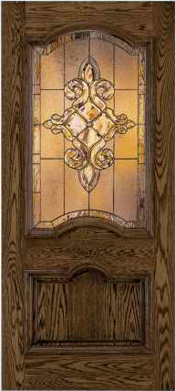 JELD-WEN 412 Custom Wood Glass Panel Exterior Door