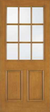 JELD-WEN A5944 Aurora® Custom Fiberglass Glass Panel