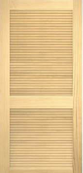 JELD-WEN 730 Authentic Wood Louver