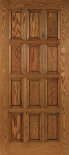 JELD-WEN E0712 Custom Wood All Panel Interior Door