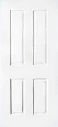 JELD-WEN 40 Steel All Panel Exterior Door