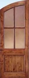 JELD-WEN 5504 Custom Wood Glass Panel