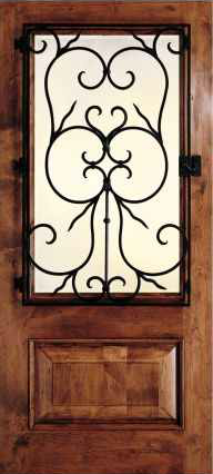 JELD-WEN 1260 Custom Wood Glass Panel