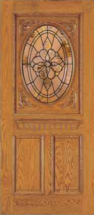 JELD-WEN 106 Custom Wood Glass Panel