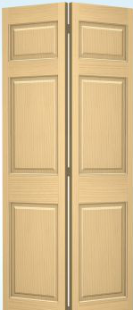 JELD-WEN 66 Authentic Wood Bifold
