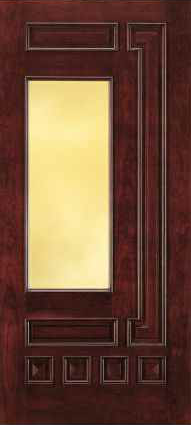 JELD-WEN 862 Custom Wood Glass Panel