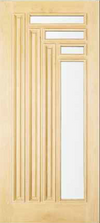 JELD-WEN 170 Custom Wood Glass Panel