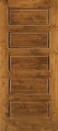 JELD-WEN E0055 Custom Wood All Panel Interior Door