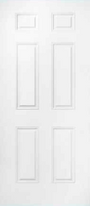 JELD-WEN 60 Steel All Panel Exterior Door