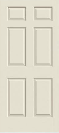 JELD-WEN Colonial Molded Wood Composite All Panel