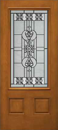 JELD-WEN 828 Architectural Fiberglass Glass Panel