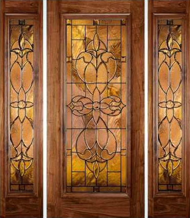 JELD-WEN 880 Custom Wood Glass Panel