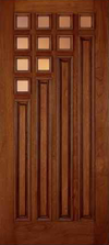 JELD-WEN 800 Custom Wood Glass Panel