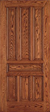 JELD-WEN E0403 Custom Wood All Panel Interior Door