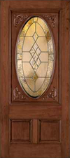 JELD-WEN 115 Custom Wood Glass Panel