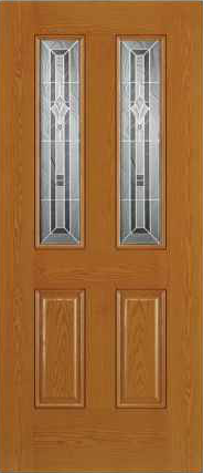 JELD-WEN 692 Design-Pro & Smooth-Pro Fiberglass Glass Panel