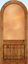 JELD-WEN 1322 Custom Wood Glass Panel Exterior Door