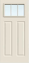 JELD-WEN 818 Steel Glass Panel Exterior Door